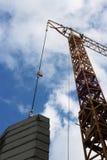 Construcción industrial de la grúa de edificios y de la máquina de las casas Imagenes de archivo