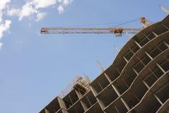 Construcción inmobiliaria Fotografía de archivo libre de regalías