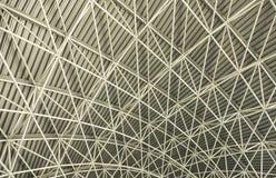 Construcción metálica del tejado Imagenes de archivo