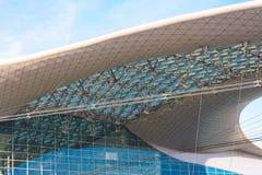Construcción moderna de la azotea Imagen de archivo libre de regalías