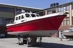 Construcción naval, reparación de barcos Foto de archivo libre de regalías