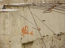 Construcción oxidada. Imagen de archivo