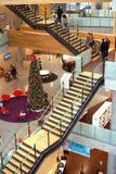 Construcción pública moderna de la escalera Imagen de archivo libre de regalías