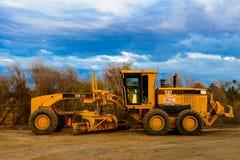 Construcción pesada CAT Tractor Fotografía de archivo