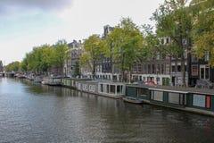 Construcción que viaja, histórica, Amsterdam imagen de archivo