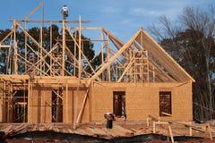 Construcción residencial Fotos de archivo