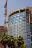 Construcción un nuevo hotel en El Cairo Imágenes de archivo libres de regalías