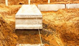 Construcción una casa Foto de archivo libre de regalías