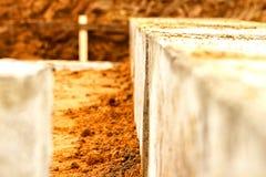 Construcción una casa Foto de archivo