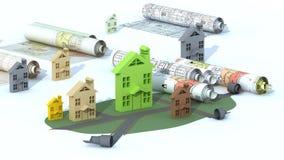 Construcción urbana ilustración del vector