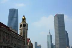 Construcción urbana china Imagen de archivo