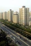 Construcción urbana de Pekín imagenes de archivo