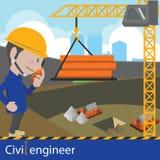 Construcción y genio civil Foto de archivo