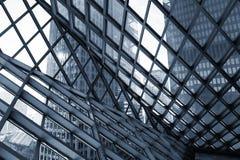 Construcción de edificios abstracta Imagen de archivo libre de regalías