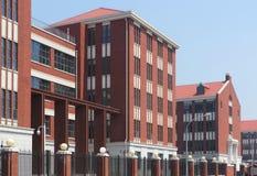 Construcción de escuelas Imagen de archivo libre de regalías