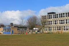 Construcción de escuelas moderna Imagen de archivo libre de regalías