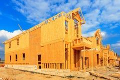 Construcción de la casa Fotografía de archivo libre de regalías
