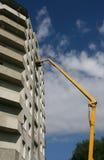 Construcción de un edificio. Imagen de archivo libre de regalías