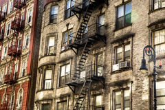 Construcción de viviendas NYC Fotografía de archivo libre de regalías