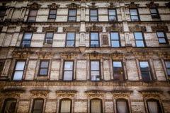 Construcción de viviendas NYC Imagen de archivo libre de regalías