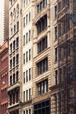 Construcción de viviendas NYC Imagenes de archivo