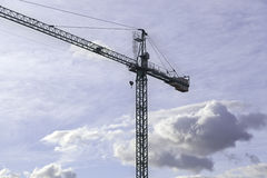 Construccion de grue Images libres de droits