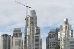 Construcciones de edificios Foto de archivo