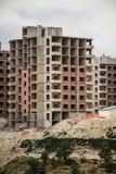 Construcciones de la vivienda de protección oficial Fotos de archivo