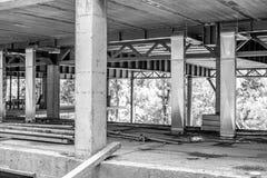 Construcciones de un edificio bajo la construcción o cuarto fotos de archivo