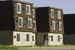 Construcciones de viviendas abandonadas Imagen de archivo libre de regalías