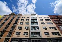 Construcciones de viviendas modernas Foto de archivo