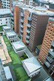 Construcciones de viviendas modernas Imagenes de archivo
