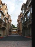Construcciones de viviendas modernas Imagen de archivo libre de regalías