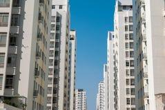 Construcciones de viviendas públicas en Ho Chi Minh City, Vietnam foto de archivo
