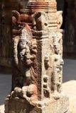 Construcciones del templo viejo en la India Imágenes de archivo libres de regalías