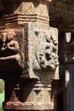 Construcciones del templo viejo en la India Fotografía de archivo
