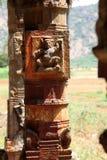 Construcciones del templo viejo en la India Foto de archivo libre de regalías