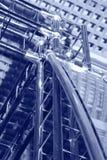 Construcciones en azules Imagen de archivo libre de regalías