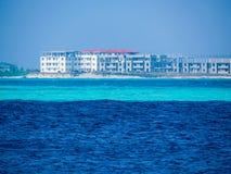 Construcciones en Malé, Maldivas imagen de archivo libre de regalías