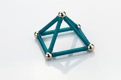 Construcciones geométricas del juego Imagen de archivo libre de regalías