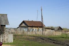 Construcciones rurales de decaimiento Fotografía de archivo libre de regalías