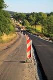 Construcion del camino Imagen de archivo libre de regalías