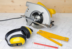 Construcion tools Royalty Free Stock Photos