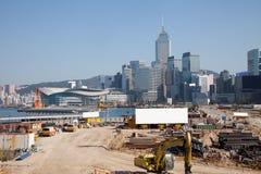 construct Hong Kong arkivfoton