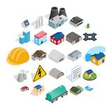 Construct icons set, isometric style. Construct icons set. Isometric set of 25 construct vector icons for web isolated on white background Royalty Free Stock Image
