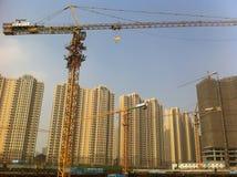 Construct new houses Stock Photo