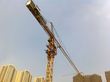Construct new houses. In china.this image from iphon4 camera Stock Photography