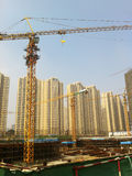 Construct site. Construct new houses in china.this image from iphon4 camera Stock Images