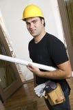 Constructeur à la maison Photographie stock