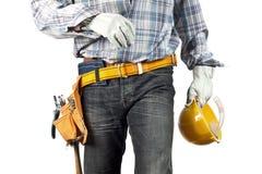 Constructeur Images stock